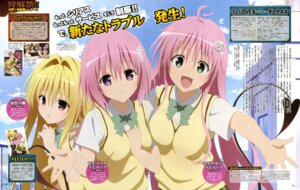 Rating: Safe Score: 26 Tags: golden_darkness lala_satalin_deviluke momo_velia_deviluke seifuku tail takiyama_masaaki to_love_ru to_love_ru_darkness User: blooregardo