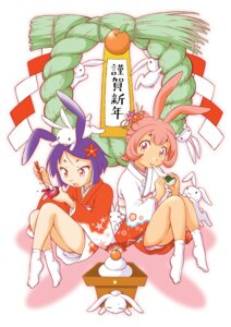 Rating: Safe Score: 2 Tags: animal_ears bunny_ears senju_rion yukata User: fireattack