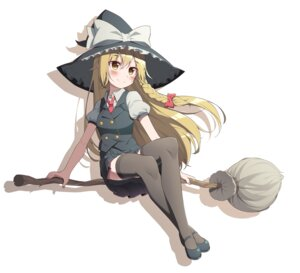 Rating: Safe Score: 27 Tags: hop3 kirisame_marisa seifuku thighhighs touhou witch User: Nico-NicoO.M.