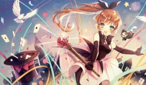 Rating: Safe Score: 19 Tags: dress haneoka_meimi kaitou_saint_tail pantyhose User: Kilbert