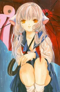 Rating: Safe Score: 8 Tags: chii chobits clamp seifuku User: syaoran-kun