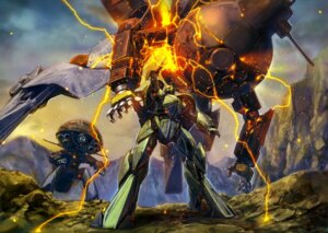 Rating: Safe Score: 13 Tags: gun gundam landscape mecha turn_x weapon User: drop