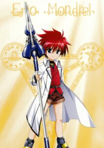 Rating: Safe Score: 5 Tags: erio_mondial mahou_shoujo_lyrical_nanoha mahou_shoujo_lyrical_nanoha_strikers User: syaoran-kun