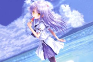 Rating: Safe Score: 40 Tags: angel_beats! cosplay goto-p key naruse_shiroha seifuku summer_pockets tenshi User: 1131038624