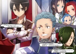 Rating: Safe Score: 7 Tags: abec kirito ronye_arabel sword_art_online tieze_shtolienen uniform User: kiyoe