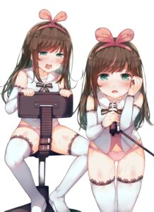 Rating: Questionable Score: 59 Tags: a.i._channel deru06 kizuna_ai pantsu thighhighs User: Domestic