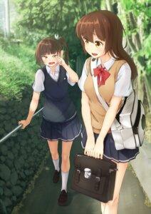 Rating: Safe Score: 29 Tags: kuroneko_shiro seifuku User: Mr_GT