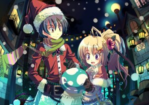 Rating: Safe Score: 8 Tags: christmas yamadori_yoshitomo User: Manabi
