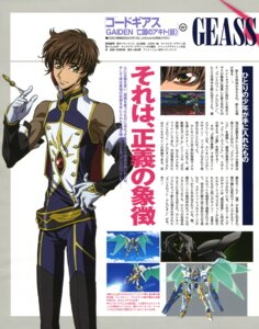 Rating: Safe Score: 3 Tags: code_geass kururugi_suzaku male sakou_yukie User: Share