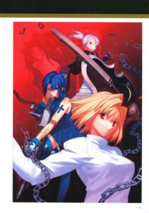 Rating: Safe Score: 13 Tags: arcueid_brunestud ciel melty_blood michael_roa_valdamjong riesbyfe_stridberg takeuchi_takashi thighhighs tsukihime type-moon User: fireattack