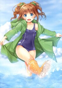 Rating: Questionable Score: 44 Tags: k+y=k k-ko school_swimsuit swimsuits takatsuki_yayoi the_idolm@ster User: fireattack
