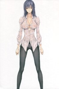 Rating: Questionable Score: 85 Tags: cleavage erect_nipples kizuki_aruchu no_bra pantsu pantyhose see_through udon-ya wet_clothes User: eccdbb