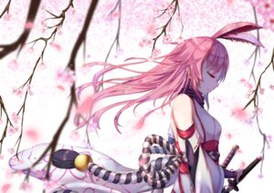 Rating: Safe Score: 43 Tags: animal_ears benghuai_xueyuan bunny_ears japanese_clothes sword yae_sakura_(benghuai_xueyuan) ye_zi_you_bei_jiao_ju_ge User: charunetra