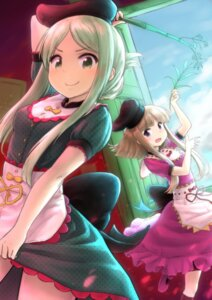 Rating: Safe Score: 28 Tags: dress nishida_satono teireida_mai touhou wamu_(chartreuse) User: Mr_GT