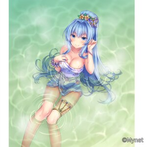 Rating: Safe Score: 11 Tags: bathing breast_hold cleavage garter otosume_ruiko sangoku_infinity towel wet User: Mr_GT