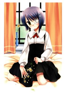 Rating: Safe Score: 18 Tags: color_issue ef_~a_fairytale_of_the_two~ eyepatch miyasu_risa shindou_chihiro User: fireattack
