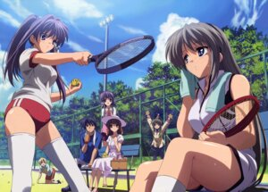 Rating: Safe Score: 53 Tags: buruma clannad dress fujibayashi_kyou fujibayashi_ryou furukawa_nagisa gym_uniform ibuki_fuuko okazaki_tomoya pantyhose sakagami_tomoyo seifuku summer_dress sunohara_youhei takahashi_mariko tennis thighhighs towel wet User: Radioactive