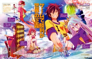 Rating: Safe Score: 20 Tags: kuramii_tseru no_game_no_life oya_kouji shiro_(no_game_no_life) sora_(no_game_no_life) stephanie_dora teto_(no_game_no_life) thighhighs User: drop