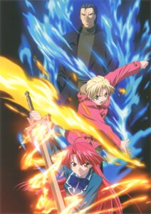 Rating: Safe Score: 4 Tags: kannagi_ayano kannagi_genma kannagi_ren kaze_no_stigma User: Radioactive