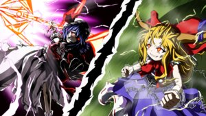 Rating: Safe Score: 7 Tags: ibuki_suika remilia_scarlet ten'yoku touhou User: Brufh