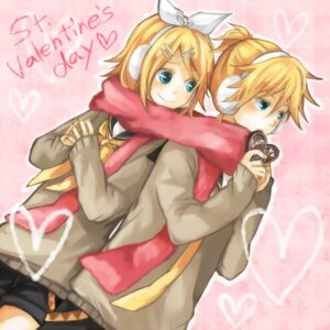 Rating: Safe Score: 12 Tags: kagamine_len kagamine_rin tama_(songe) vocaloid User: charunetra