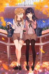 Rating: Safe Score: 51 Tags: pantyhose seifuku shirakino sweater User: hamasen205