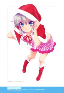 Rating: Safe Score: 59 Tags: charlotte christmas cleavage dress tomori_nao User: drop