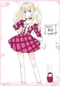 Rating: Safe Score: 25 Tags: cleavage dress sketch suzuhira_hiro tsuki_ni_yorisou_otome_no_sahou ursule_fleur_jeanmarie User: Hatsukoi