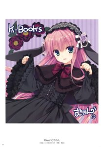 Rating: Safe Score: 36 Tags: autographed dress gothic_lolita k-books lolita_fashion muririn User: Twinsenzw
