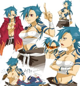 Rating: Questionable Score: 11 Tags: cleavage erect_nipples genderswap harayan kamina sarashi tengen_toppa_gurren_lagann topless User: Radioactive