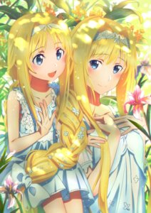 Rating: Safe Score: 67 Tags: alice_schuberg breast_hold dress sword_art_online_alicization tagme User: 桐须真冬