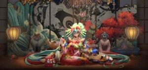 Rating: Safe Score: 36 Tags: cleavage hatsune_miku jujumaho_(nanigaxila) kimono vocaloid User: Mr_GT