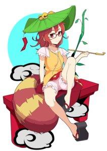 Rating: Safe Score: 15 Tags: bloomers futatsuiwa_mamizou haseneko megane tail touhou User: Radioactive