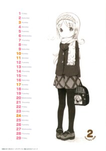 Rating: Safe Score: 4 Tags: ana_coppola barasui ichigo_mashimaro monochrome pantyhose User: Radioactive