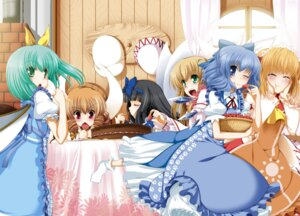 Rating: Safe Score: 16 Tags: cirno daiyousei eiyuu lily_white luna_child star_sapphire sunny_milk touhou User: Radioactive