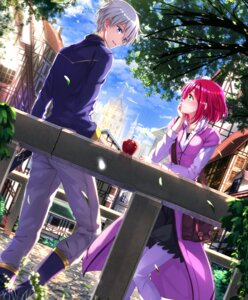 Rating: Safe Score: 29 Tags: akagami_no_shirayukihime shirayuki_(akagami_no_shirayukihime) swordsouls zen_wistalia User: Mr_GT