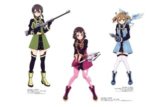 Rating: Questionable Score: 21 Tags: ayano_keiko gun heels megane pantyhose pina shino_asada shinozaki_rika sword_art_online sword_art_online_ordinal_scale tanabe_kenji thighhighs uniform weapon User: drop