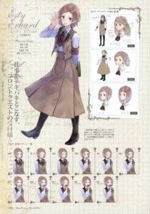 Rating: Safe Score: 14 Tags: atelier atelier_rorona character_design esty_erhard expression kishida_mel profile_page User: crim
