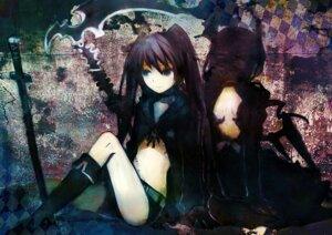 Rating: Safe Score: 19 Tags: black_rock_shooter black_rock_shooter_(character) dead_master tsuchiya_akira vocaloid User: fireattack