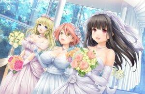 Rating: Safe Score: 45 Tags: dress game_cg ishikei love³_-love_cube- neko_work_h tagme wedding_dress User: kiyoe