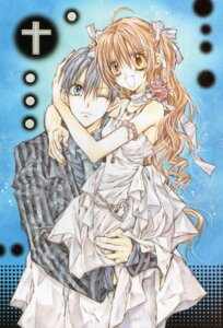 Rating: Safe Score: 8 Tags: dress otomiya_haine shinshi_doumei_cross tanemura_arina tougu_shizumasa User: syaoran-kun
