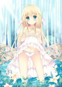 Rating: Questionable Score: 152 Tags: bekotarou cameltoe dress loli lolita_fashion pantsu skirt_lift summer_dress User: tbchyu001