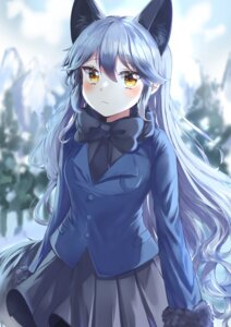 Rating: Questionable Score: 22 Tags: animal_ears kemono_friends kitsune silver_fox tail umyo_(uu_o3o_8) User: Dreista
