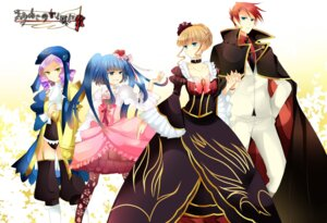 Rating: Safe Score: 12 Tags: beatrice dlanor_a_knox dress furudo_erika kinatsu_souju umineko_no_naku_koro_ni ushiromiya_battler User: charunetra