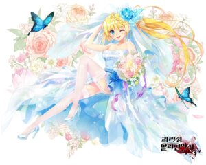 Rating: Safe Score: 39 Tags: dress heels kaku-san-sei_million_arthur shuen stockings thighhighs wedding_dress User: Mr_GT