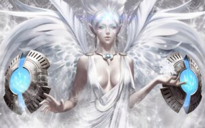 Rating: Safe Score: 27 Tags: cleavage dress no_bra pointy_ears tera_online wallpaper wings User: slts21