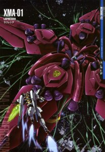 Rating: Safe Score: 7 Tags: gun gundam gundam_f91 gundam_f91_(mecha) mecha tentacles yamagishi_masakazu User: drop