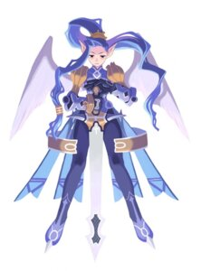Rating: Safe Score: 10 Tags: disgaea harada_takehito nippon_ichi_software omega_ice pointy_ears wings User: Radioactive