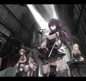Rating: Safe Score: 101 Tags: akiyama_mio dress guitar hirasawa_yui k-on! kotobuki_tsumugi lin+ nakano_azusa tainaka_ritsu thighhighs User: Riven