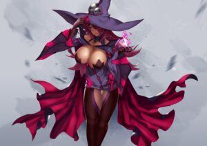 Rating: Safe Score: 43 Tags: blazblue cleavage dress eu03 konoe_a_mercury pantyhose witch User: Mr_GT